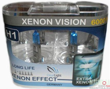 Галогеновая лампа ClearLight H1 Xenon Vision