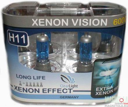 Галогеновая лампа ClearLight H11 Xenon Vision
