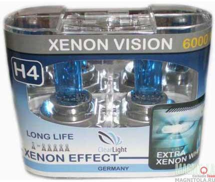Галогеновая лампа ClearLight H4 Xenon Vision