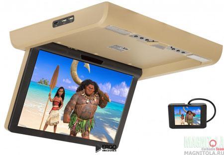 Потолочный монитор со встроенным медиаплеером XM XM-1590RDUD beige