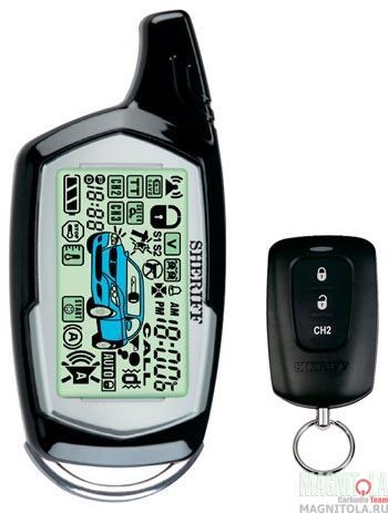 Автомобильная сигнализация SHERIFF ZX-1090 Pro